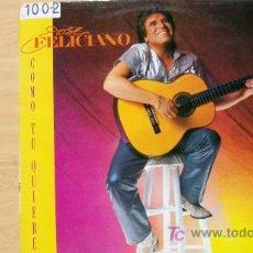 Discos de vinilo: JOSE FELICIANO-COMO TU QUIERES-LP 1984. Lote 19212463