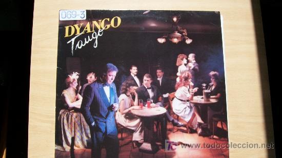 DYANGO-TANGO-LP 1988- (Música - Discos - LP Vinilo - Solistas Españoles de los 70 a la actualidad)