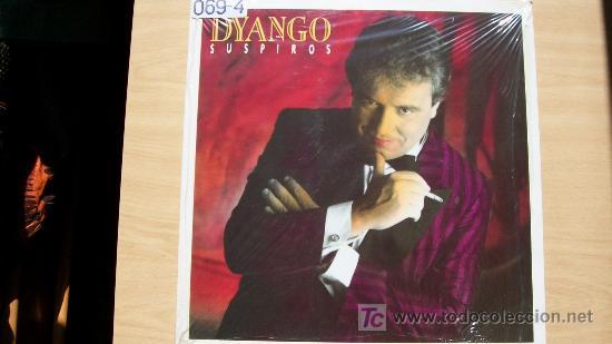 DYANGO-SUSPIROS-LP 1989- (Música - Discos - LP Vinilo - Solistas Españoles de los 70 a la actualidad)