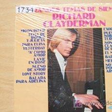 Discos de vinilo: RICHARD CLAYDERMAN-TEMAS DE SIEMPRE. Lote 19610475