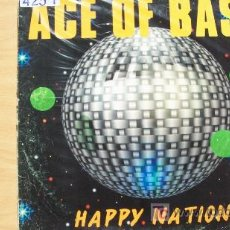 Discos de vinilo: ACE OF BASE-HAPPY NATION-LP-1999-. Lote 20255397