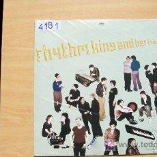 Discos de vinilo: RHYTHM KING AND HER FRIEND-SET PAID-EP-4 CANCIONES-. Lote 20256386
