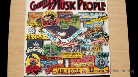COUNTRY MUSIC PEOPLE-GUIMBARDA-ESTADOS UNIDOS-ALBUM DOBLE-1977- (Música - Discos - LP Vinilo - Country y Folk)