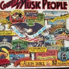 Discos de vinilo: COUNTRY MUSIC PEOPLE-GUIMBARDA-ESTADOS UNIDOS-ALBUM DOBLE-1977-. Lote 20771090