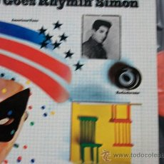 Discos de vinilo: PAUL SIMON,THERE GOES RHYMIN SIMON DEL 73 DOBLE CARPETA. Lote 18556167