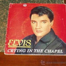 Discos de vinilo: ELVIS PRESLEY EP CRYING IN THE CHAPEL+3. Lote 26689076