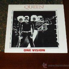 Discos de vinilo: QUEEN SINGLE ONE VISION (RARE). Lote 26507577