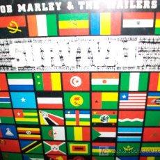 Discos de vinilo: BOB MARLEY AND THE WAILLERS LP SURVIVAL. Lote 26634450