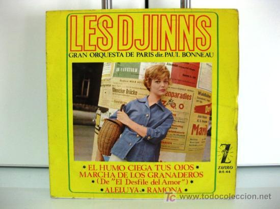 LES DJINNS - EL HUMO CIEGA TUS OJOS - EP ZAFIRO 1964 BPY (Música - Discos de Vinilo - EPs - Canción Francesa e Italiana)