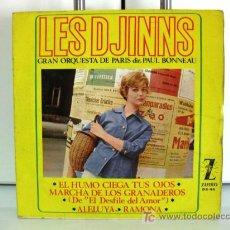 Discos de vinilo: LES DJINNS - EL HUMO CIEGA TUS OJOS - EP ZAFIRO 1964 BPY. Lote 26153672