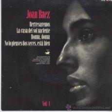Discos de vinilo: JOAN BAEZ,REGRESAREMOS DEL 64. Lote 18575940