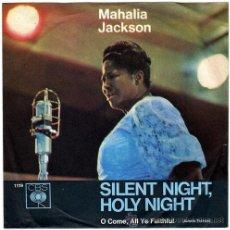 Discos de vinilo: MAHALIA JACKSON – SILENT NIGHT, HOLY NIGHT – SN GERMANY – CBS 1119. Lote 18586170