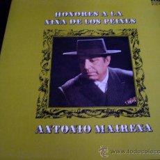 Discos de vinilo: ANTONIO MAIRENA-HONORES A LA NIÑA DE LOS PEINES-RCA 1969 PORTADA ABIERTA. Lote 55046806
