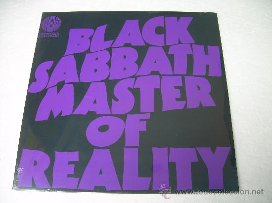2LP BLACK SABBATH MASTER OF REALITY DELUXE 180G VINILOS HEAVY METAL HARD ROCK (Música - Discos - LP Vinilo - Heavy - Metal)