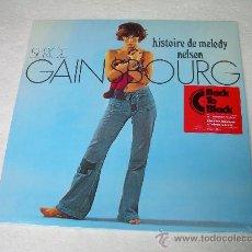 Discos de vinilo: LP SERGE GAINSBOURG HISTOIRE DE MELODY NELSON VINILO. Lote 47362273