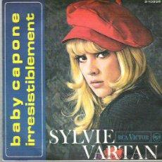Discos de vinilo: SYLVIE VARTAN - BABY CAPONE ** RCA VICTOR ESPAÑA 1968 ** ** DIFICIL. Lote 19791271