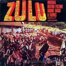 Discos de vinilo: ZULU ORIGINAL SOUNDTRACK AND THEMES MUSICA JOHN BARRY SILVA SCREEN UK 1988. Lote 18605010