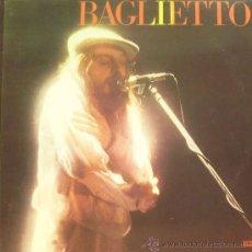 Discos de vinilo: JUAN CARLOS BAGLIETTO-BAGLIETTO LP 1984 PROMOCIONAL SPAIN. Lote 18620481