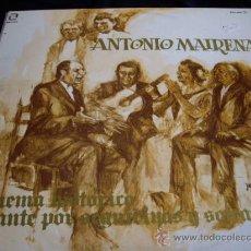 Discos de vinilo: ANTONIO MAIRENA-ESQUEMA HISTORICO DEL CANTE POR SEGUIRILLAS Y SOLEARES-DOBLE LP. Lote 26178492