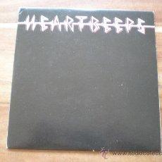 Discos de vinilo: HEARTBEEPS - A BORING LIFE WITH NO GUITAR + 2 - (FRANCIA-FRANTIC CITY-2009) GARAGE PUNK. Lote 27072621