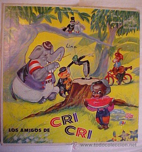 EL GRILLITO CRI CRI FRANCISCO GABILONDO SOLER (Música - Discos - LP Vinilo - Cantautores Internacionales)