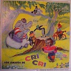 Discos de vinilo: EL GRILLITO CRI CRI FRANCISCO GABILONDO SOLER. Lote 26877756
