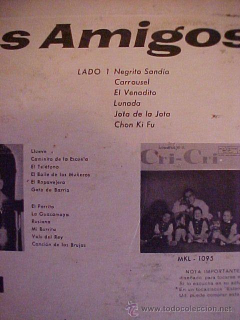 Discos de vinilo: el grillito Cri Cri Francisco Gabilondo Soler - Foto 3 - 26877756