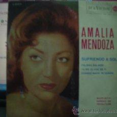 Discos de vinilo: AMALIA MENDOZA. Lote 18642086