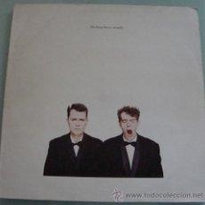 Discos de vinilo: PET SHOP BOYS - ACTUALLY - LP VINILO 1987. Lote 18647048