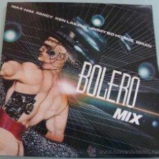Discos de vinilo: BOLERO MIX - LP BLANCO Y NEGRO 1986. Lote 18647067
