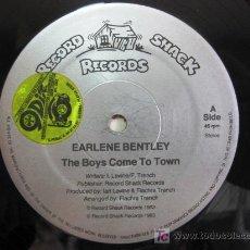 Earlene Bentley - The Boys Come To Town - Maxi Record Shack 1983 (Hi-NRG, Soul, Disco) BPY