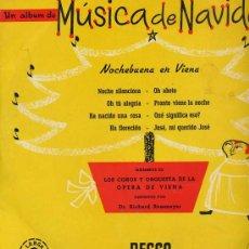 Discos de vinilo: 10 PULGADAS - MUSICA DE NAVIDAD (DECCA LX 3065). Lote 18699160