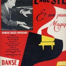 Discos de vinilo: 10 PULGADAS - EMIL STERN (RIVIERA 6543). Lote 18685795