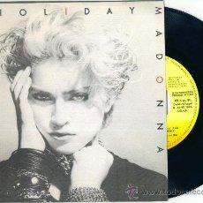 Discos de vinilo: MADONNA. HOLIDAY (VINILO SINGLE PROMO 1983). Lote 18688230