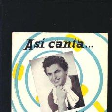 Discos de vinilo: ANTONIO MOLINA ASI CANTA SOY MINERO. Lote 18701160