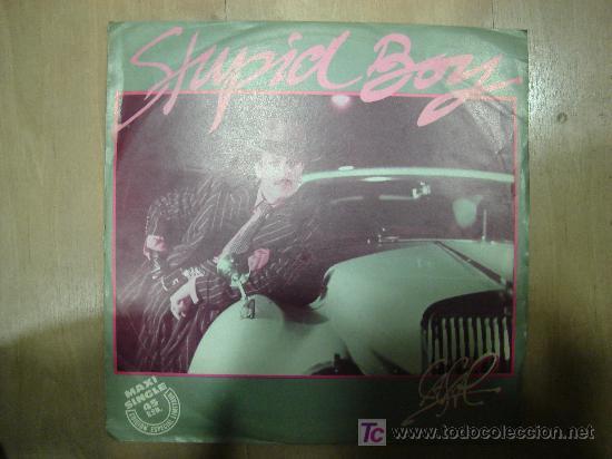 TINO CASAL. STUPID BOY. MAXI SINGLE, EDICION ESPECIAL LIMITADA. (Música - Discos de Vinilo - Maxi Singles - Solistas Españoles de los 70 a la actualidad)