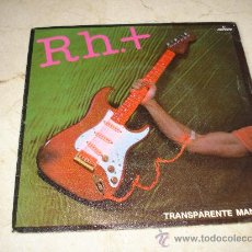 Disques de vinyle: RH. + - TRANSPARENTE MANIQUI. Lote 18713255