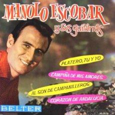 Discos de vinilo: MANOLO ESCOBAR - 1962. Lote 21079515