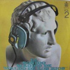 Discos de vinilo: WALDO DE LOS RÍOS - EL SONIDO MÁGICO DE WALDO DE LOS RÍOS VOL. 2 - 1970. Lote 27463792