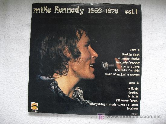 MIKE KENNEDY - 1960-1973. VOL 1. EDIT. EXPLOSION 1974. (Música - Discos - LP Vinilo - Grupos Españoles de los 70 y 80)