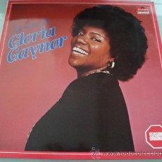 Discos de vinilo: GLORIA GAYNOR - LO MEJOR - LP VINILO COMO NUEVO!!. Lote 18759616