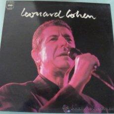 Discos de vinilo: LEONARD COHEN - LP CBS PROMO 1989. Lote 18759763