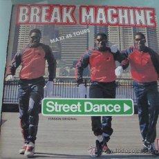 Discos de vinilo: BREAK MACHINE - STREET DANCE - MAXISINGLE 1983. Lote 18759911