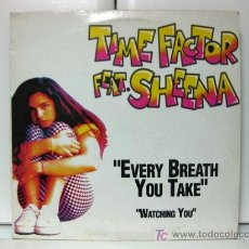 Discos de vinilo: TIME FACTOR FEAT. SHEENA - EVERY BREATH YOU TAKE - MAXI MAX MUSIC 1993 (HARD HOUSE, EURO HOUSE) BPY. Lote 18827533