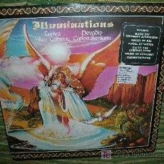 Discos de vinilo: ILLUMINATIONS LP - ORIGINAL INGLES - CBS 1974 - ALICE COLTRANE , CARLOS SANTANA ETC -CON ENCARTE -. Lote 27027411