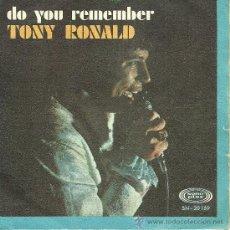 Discos de vinilo: TONY RONALD
