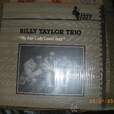 Discos de vinilo: BILLY TAYLOR TRIO - PLATINUM JAZZ - MCA RECORDS 1982- NUEVO. Lote 25781578