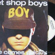 Vinyl records - Pet shop boys single love comes quickly 1986 - 18868602