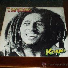 Discos de vinilo: BOB MARLEY & THE WAILERS LP KAYA. Lote 32627262