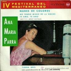 Discos de vinilo: ANA MARIA PARRA EP SELLO RCA VICTOR EDITADO EN ESPAÑA AÑO 1962 CON LOS SONOR. Lote 18872618
